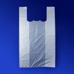 Пакет п/эт белый майка 30x50см 15мк 100шт/уп