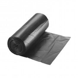 Мешок для мусора 60л 15мк 60х80см черные 20шт/рл