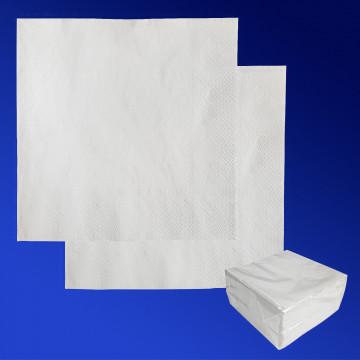 Салфетки белые 33х33см 2 сл 100 шт/уп