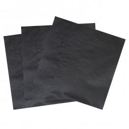 Салфетки черные 33х33см 2 сл 100 шт/уп