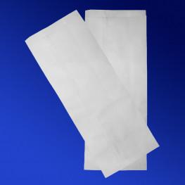 Пакет бумажный 35х13х7см белый для выпечки 2500шт/уп