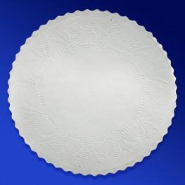 Салфетка подставка белая бумажная d20,5см 500шт/уп