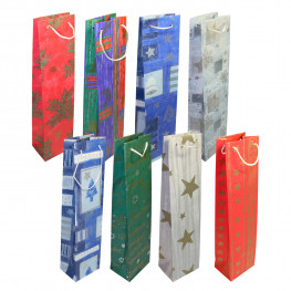 Пакет Новогодний для подарков 37х9см 2шт/уп