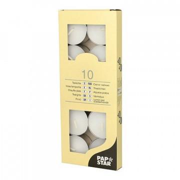 Свечи чайные d3,7см h2,0см 10шт/уп