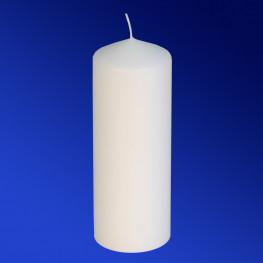 Свечи d 6,0х16,5см белые 1шт/уп