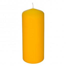 Свечи d 6,0х16,5см желтые 1шт/уп