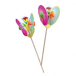 Шпажка 13см Цветок-Фонарь 100шт/уп Kg