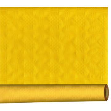 Скатерть 1,2х8м желтая в рулоне