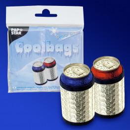 Пакет термос Холодок 0,33л 19,7х10,7х0,7см серебро