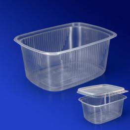 Контейнер пластиковый 250мл PP прозрачный 10,8х8,2х4,9см Д-Полимер