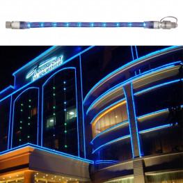 Гирлянда роуп лайт (дюралайт) 2м голубая дополнительная Ropelight 60диодов LED outdoor