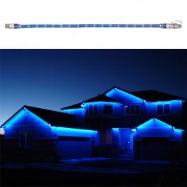 Гирлянда роуп лайт (дюралайт) 6м голубая дополнительная Ropelight 180диодов LED outdoor