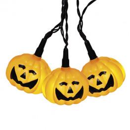 Гирлянда 3,5м Вечеринка Хеллоуин кабель черный 10м 8диодов LED outdoor