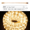 Гирлянда роуп лайт (дюралайт) 1м теплобелая прозрачная дополнительная Ropelight 36ламп EXPO outdoor 2шт/уп