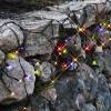 Гирлянда дождь 3х0,4м разноцветная кабель черный дополнительная 49диодов LED System 24 outdoor