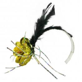 Наряд Ободок на голову Цветок с перьями