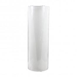 Свеча светильник LED d 10x30см кремовая таймер батарейка