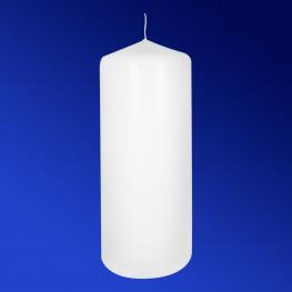 Свечи d 6,9х18,0см пеньковые белые