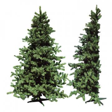 Елка 2,1м половинка зеленая