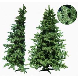 Елка 2,4м половинка зеленая