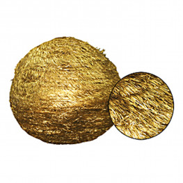 Шар еловый d0,70м золотистый из фольги
