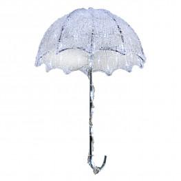 Декорация светодиод Зонтик 30см холоднобелый LED