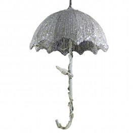 Декорация светодиод Зонтик 40см холоднобелый LED