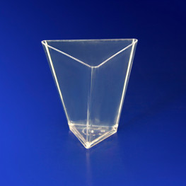 Мини-сервиз чашка Треугольник PS 67мм 70мл 25шт/уп