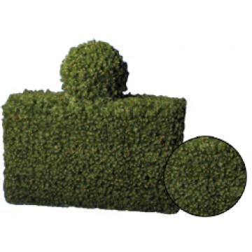 Декорация еловая зеленая Ограда с шаром d50см