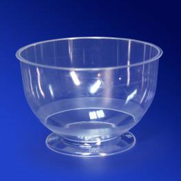 Креманка пластиковая 200мл прозрачная PP