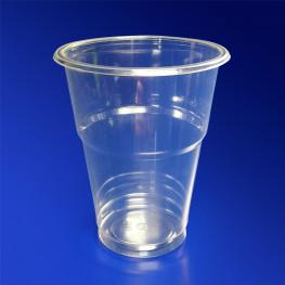 Стакан пластиковый PET 200мл прозрачный d7,6см h9,3см 50 шт/уп