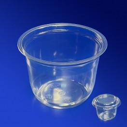 Контейнер пластиковый 120мл PET прозрачный d7,6см h5,2см Спк-76-120 А