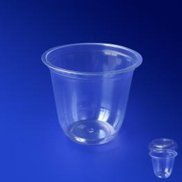 Контейнер пластиковый 150мл PET прозрачный d7,6см h6,6см Спк-76-150 А