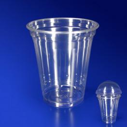 Стакан пластиковый PET 300мл прозрачный