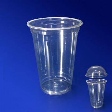 Стакан пластиковый PET 400мл прозрачный
