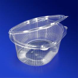 Контейнер пластиковый 1000мл PS прозрачный 17,5х14,9х7,9см 210 шт/кор ИПР-1000 А