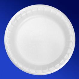 Тарелка одноразовая ВПС d17см белая 100шт/уп