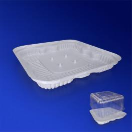 Дно к упаковке для торта 24,2х24,2см внешн белое 200 штук в коробке