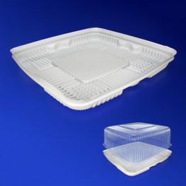 Дно к упаковке для торта 31,6х31,6см внешн белое 80 штук в коробке