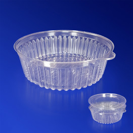 Контейнер пластиковый 500мл PS прозрачный d13,2х5,5см 500 шт/кор ИПК-500