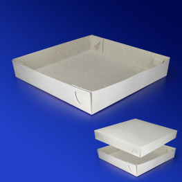 Дно к пицца-коробке 30х30 бел 200шт/уп