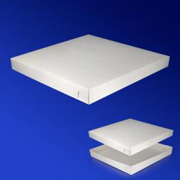 Крышка к пицца-коробке 33х33х4см бел 200шт/уп