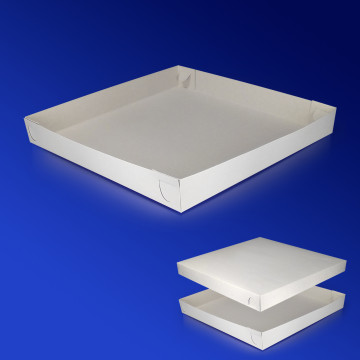 Дно к пицца-коробке 33х33 бел 200шт/уп