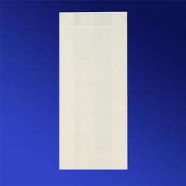 Пакет бумажный 22,0х9,0х4,0см белый для выпечки жиростойкий 35гр/м2 100шт/уп