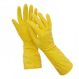 Перчатки резиновые S 2шт/уп 5 звезд СУПЕР прочные