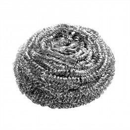 Мочалка для чистки посуды d9,5см спираль из нержавеющей стали