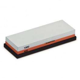 Камень для заточки ножей 2х сторонний 400/1000 grit Profio