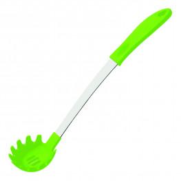 Ложка кухонная силиконовая Creative зеленая 37см