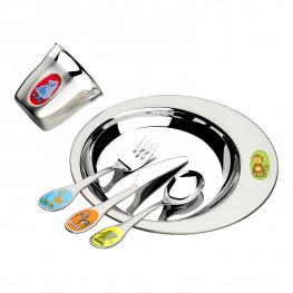 Набор детской посуды 5 предметов