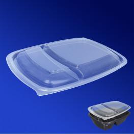 Крышка прозрачная РР к контейнеру ланч-бокс PG230-950 23х17х2,3см 50шт/уп